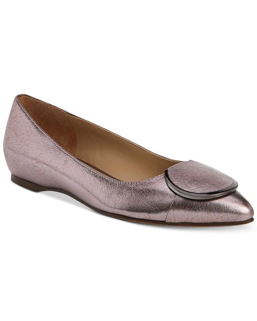 Naturalizer - Purple Stella Flats - Lyst