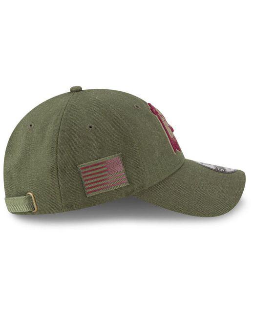... KTZ - Green Washington Redskins Salute To Service 9twenty Cap for Men -  Lyst ... ae65e4eb4