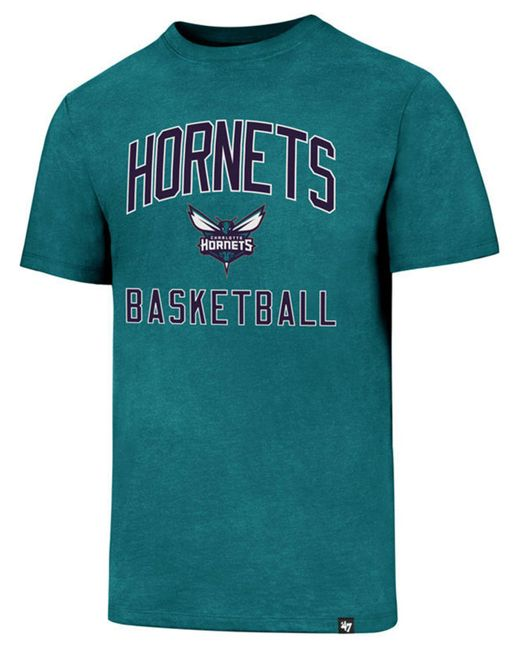 5f9f6fc22 47 Brand - Blue Charlotte Hornets 6th Man Club T-shirt for Men - Lyst ...
