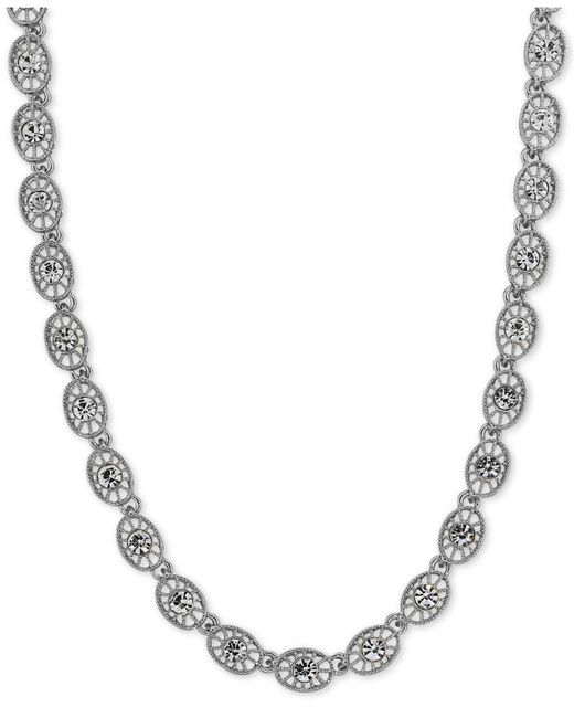 2028 | Metallic Crystal Filigree Collar Necklace | Lyst