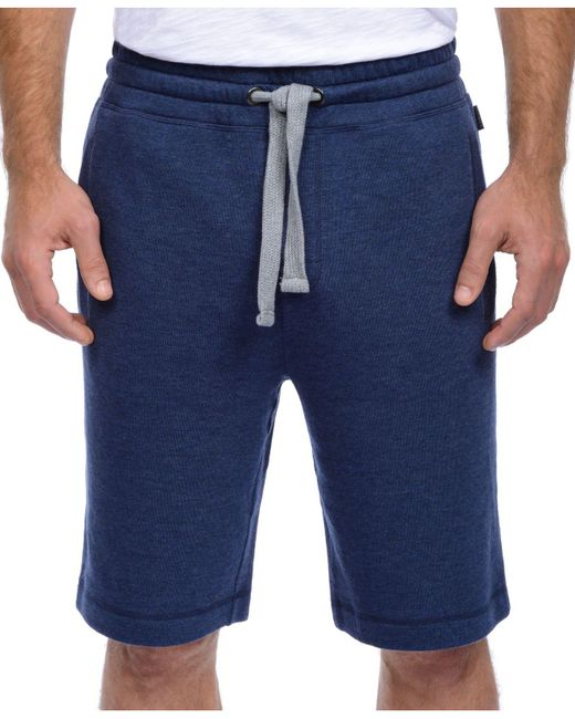 2xist | Blue Men's Terry Pajama Shorts for Men | Lyst