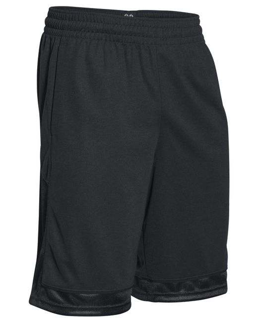 Under Armour - Black Men's Baseline Shorts for Men - Lyst