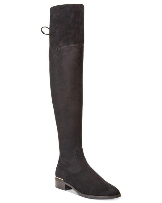 Ivanka Trump | Black Lnde Over-the-knee Boots | Lyst