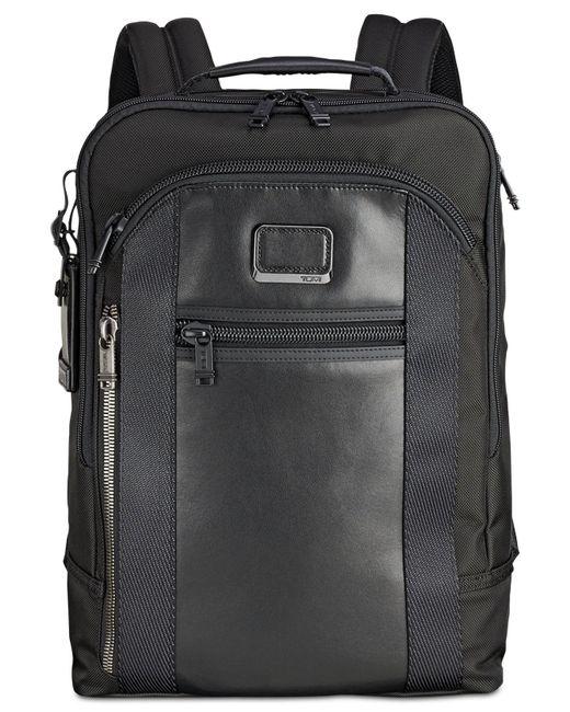 Tumi - Black Alpha Bravo Davis Backpack for Men - Lyst