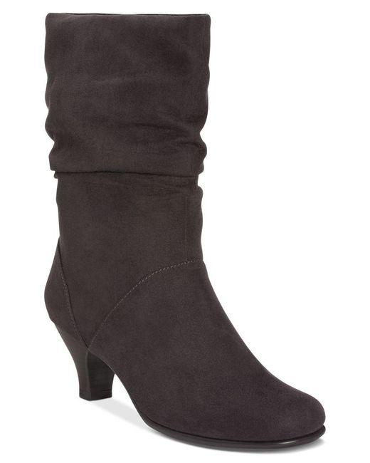 Aerosoles | Black Wisenshine Mid Shaft Boots | Lyst