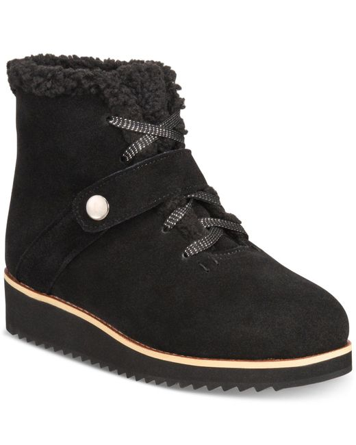 Style & Co. - Black Elissaa Cold-weather Booties, Created For Macy's - Lyst