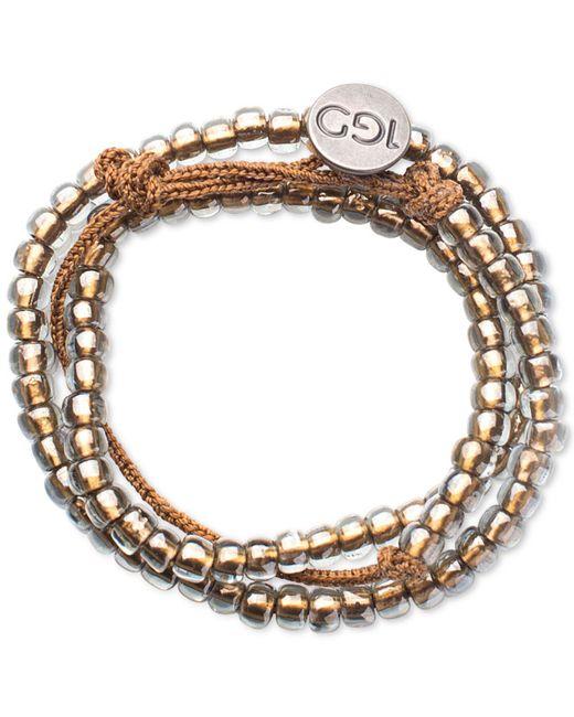 100 Good Deeds | Metallic Chestnut Bracelet | Lyst
