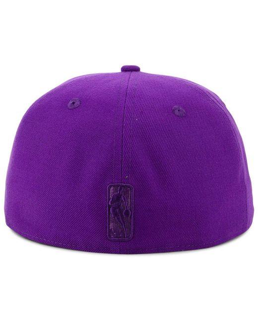 sale retailer ddd80 06ed6 ... KTZ - Purple Portland Trail Blazers Color Prism Pack 59fifty Fitted Cap  for Men - Lyst