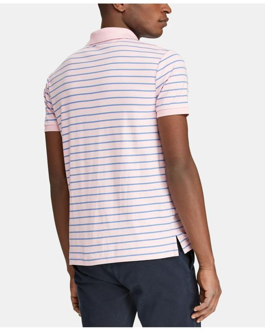 Classic Men Striped Fit Polo Ralph For 30 Lauren Shirt Save bfgvY76y