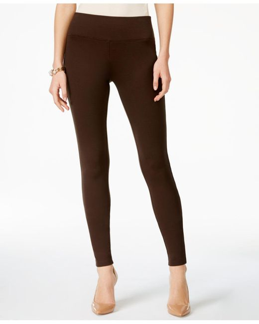 INC International Concepts | Brown Petite Seamless Leggings, Only At Macy's | Lyst