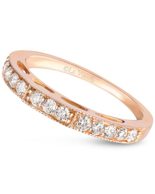Le Vian - Pink Diamond Band (3/8 Ct. T.w.) In 14k Rose Gold - Lyst