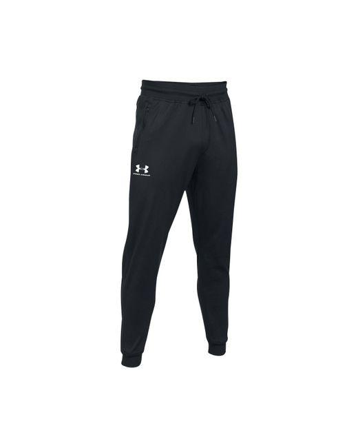 Under Armour - Black Men's Jogger Pants for Men - Lyst
