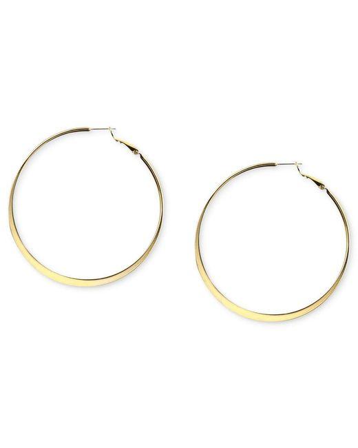 Nine West | Metallic Earrings, Hoop Earrings | Lyst