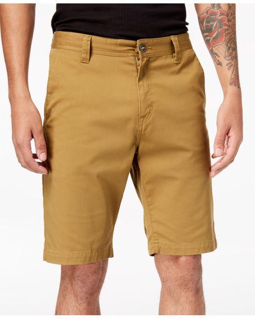 Volcom - Natural Men's Stretch Shorts for Men - Lyst
