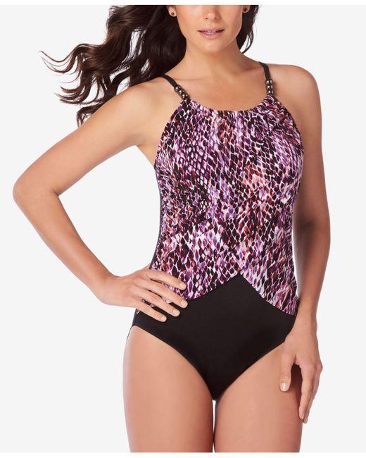 Magicsuitr - Multicolor Lisa Snake Charmer One Piece Swimsuit - Lyst
