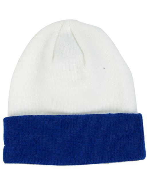 watch acc7e 42940 ... KTZ - White Indianapolis Colts Basic Cuff Knit Hat for Men - Lyst