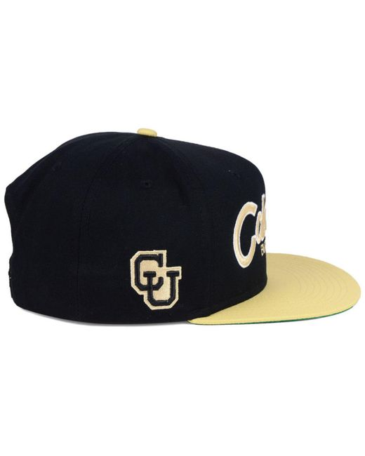 1d4aacdd666 ... Nike - Black Colorado Buffaloes Sport Specialties Snapback Cap for Men  - Lyst ...