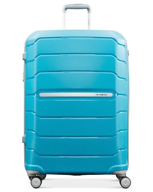 "Samsonite - Blue Freeform 24"" Hardside Spinner Suitcase for Men - Lyst"