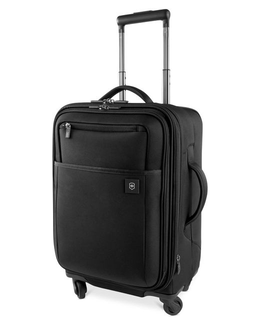 """Victorinox   Black Closeout! Victorinox Avolve 2.0 20"""" Carry On Expandable Spinner Suitcase for Men   Lyst"""