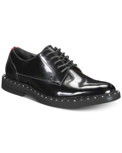 INC International Concepts - Black Bolt Lace-up Oxfords, Created For Macy's for Men - Lyst
