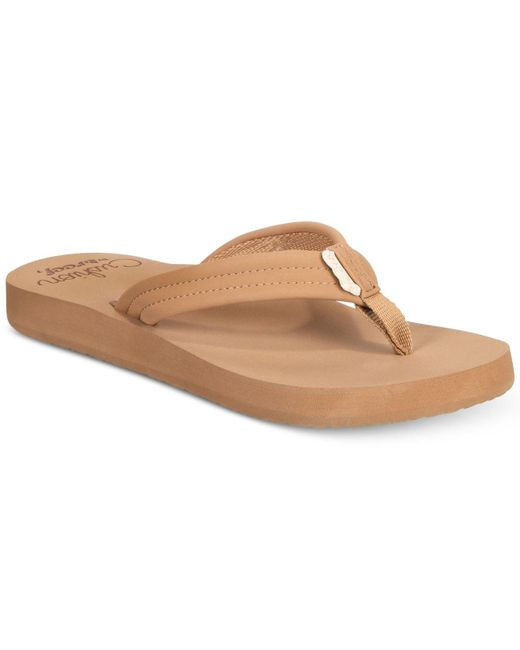Reef - Brown Cushion Breeze Flip-flops - Lyst