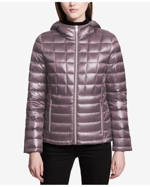 Calvin Klein | Multicolor Packable Down Puffer Coat | Lyst