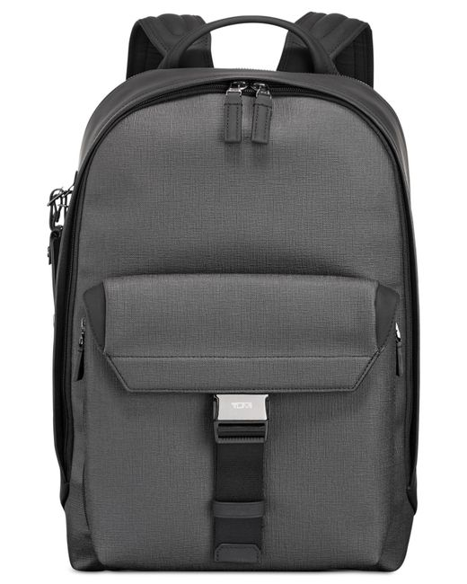 Tumi - Gray Men's Morrison Coated Canvas Backpack for Men - Lyst