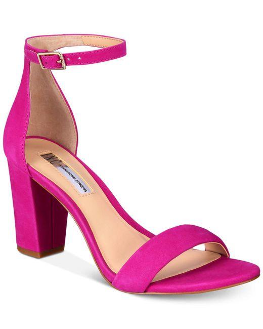 INC International Concepts | Multicolor Kivah Block Heel Dress Sandals | Lyst