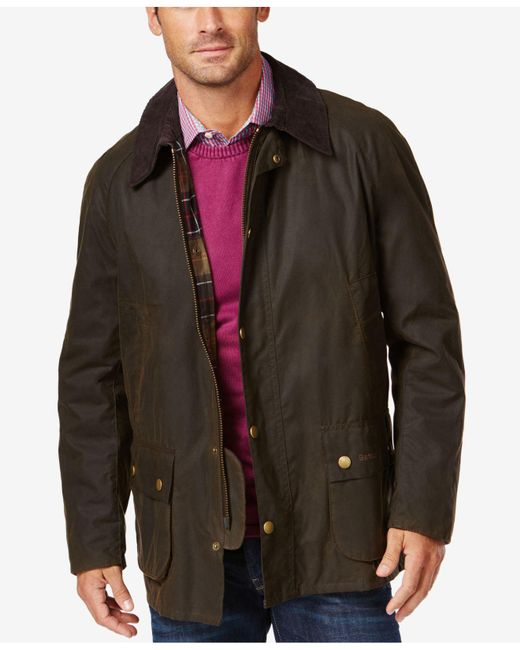 Barbour - Green Ashby Wax Jacket for Men - Lyst