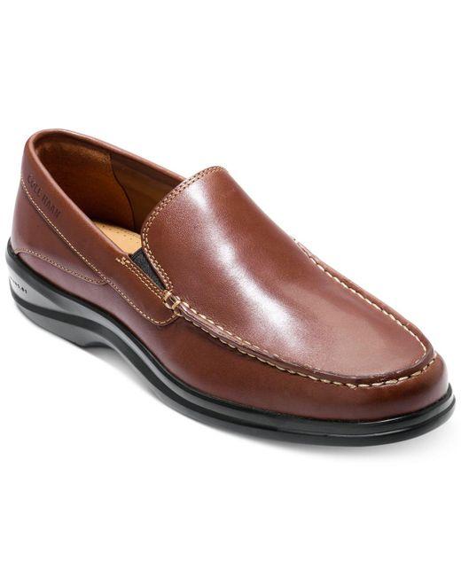 Cole Haan - Brown Men's Santa Barbara Ii Twin Gore Slip-ons for Men - Lyst