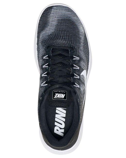 04571d61abf0d Lyst - Nike Flex Rn 2018 Mesh Sneaker in Black for Men - Save 43%