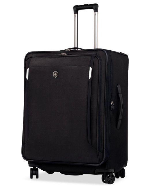 "Victorinox | Black Werks Traveler 5.0 27"" Dual Caster Spinner Suitcase for Men | Lyst"