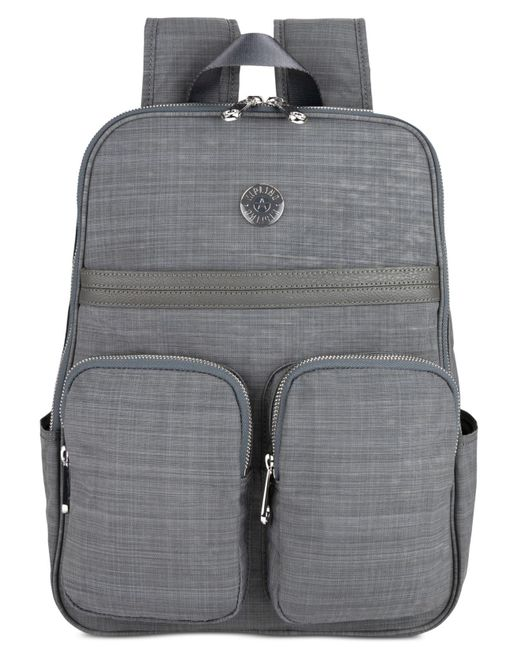 11b6c71c8b7b Kipling - Gray Sandra Laptop Backpack - Lyst ...