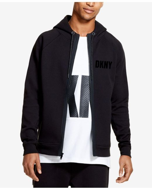 DKNY - Black Athleisure Hoodie, Created For Macy's for Men - Lyst