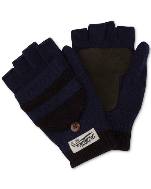 Original Penguin - Blue Men's Convertible Mittens for Men - Lyst