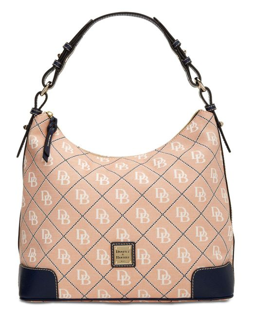 Dooney & Bourke - Pink Americana Signature Erica Hobo, Created For Macy's - Lyst