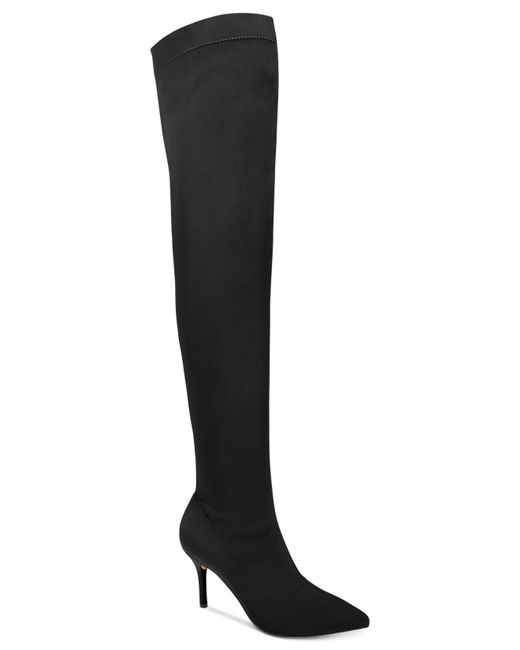 INC International Concepts | Black Women's Zaliaa Thigh-high Boots | Lyst