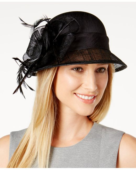 August Accessories | Black Love Story Dressy Cloche | Lyst