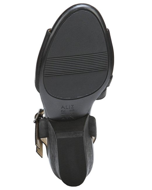 bfb5ecad6078 ... Naturalizer - Black Gigi Sandals - Lyst
