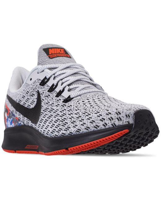 newest collection 312a1 baa61 Women's Black Air Zoom Pegasus 35 Running Sneakers From Finish Line