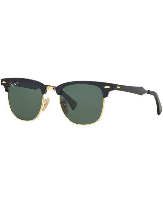 6649f9b4636 Men In Black Sunglasses Ray Ban Clubmaster Aluminum Sunglasses ...