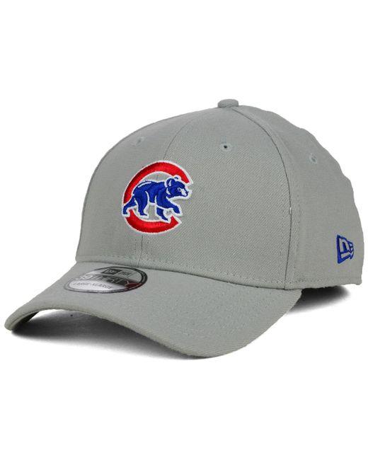 69dae2d7061 KTZ - Gray Chicago Cubs Core Classic 39thirty Cap for Men - Lyst ...