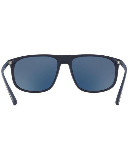 ad07274c034f ... Emporio Armani - Blue Ea4118 for Men - Lyst ...