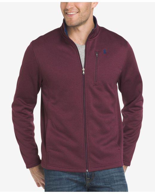 Izod   Purple Men's Advantage Performance Jacket for Men   Lyst