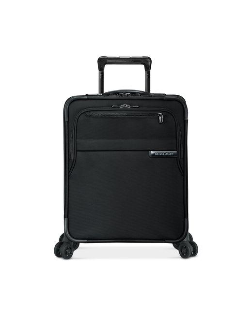 "Briggs & Riley - Black Baseline 21"" International Carry-on Spinner Suitcase for Men - Lyst"