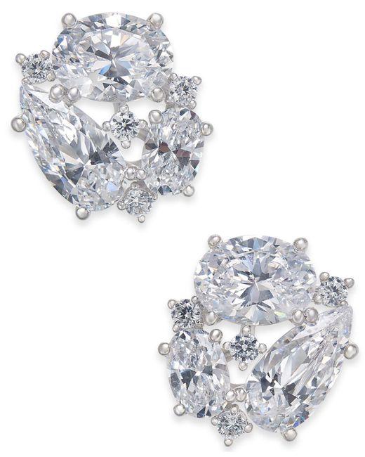 Danori - Multicolor Openwork Crystal Stud Earrings, Created For Macy's - Lyst