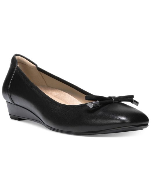 Naturalizer - Black Dove Flats - Lyst