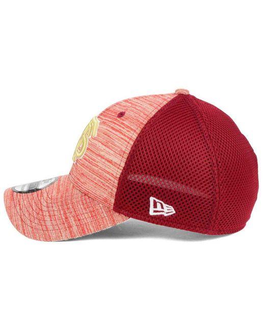 hot sale online a497a 05efc ... cheapest ktz red florida state seminoles tonal tint 39thirty cap lyst  93806 a91b3