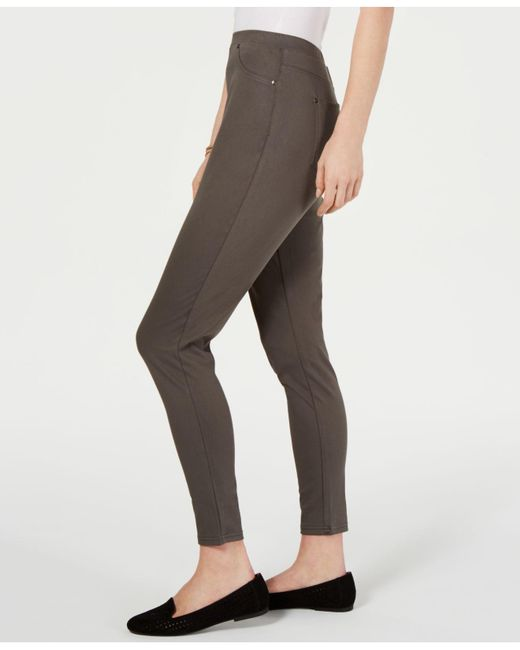 9e14bcbd637bb ... Style & Co. - Multicolor Twill Pull-on Leggings, Created For Macy's -