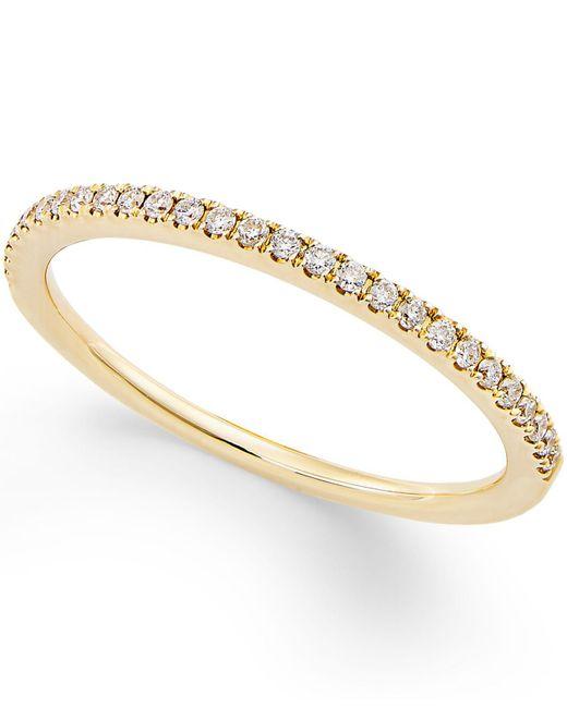 Macy's - Multicolor Diamond Pavé Ring (1/8 Ct. T.w.) In 14k Gold - Lyst